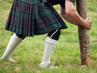 Highland Games teambuilding