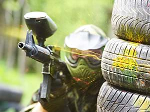 Paintball teambuilding activiteit